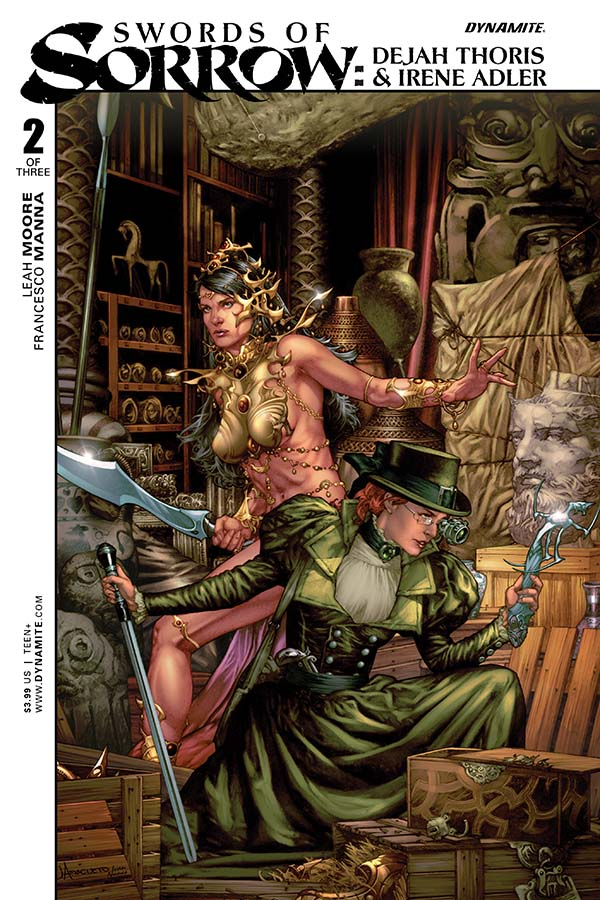 Swords of Sorrow: Dejah Thoris and Irene Adler #2