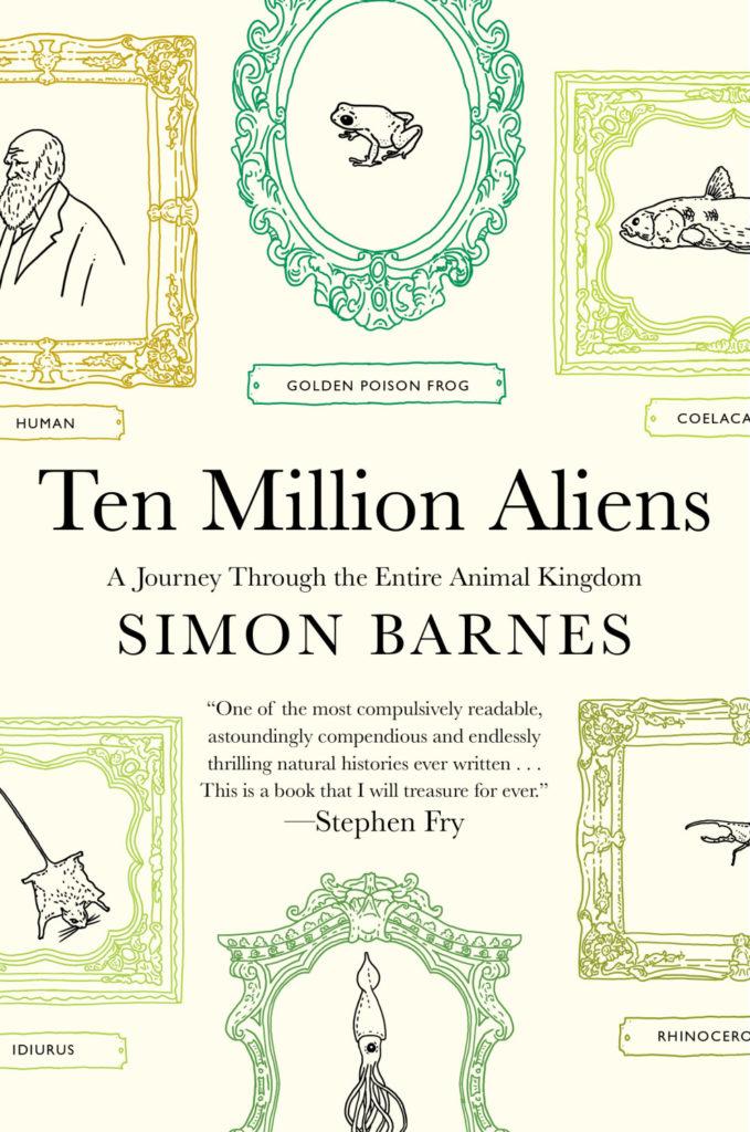 Cover for Ten Million Aliens by Simon Barnes