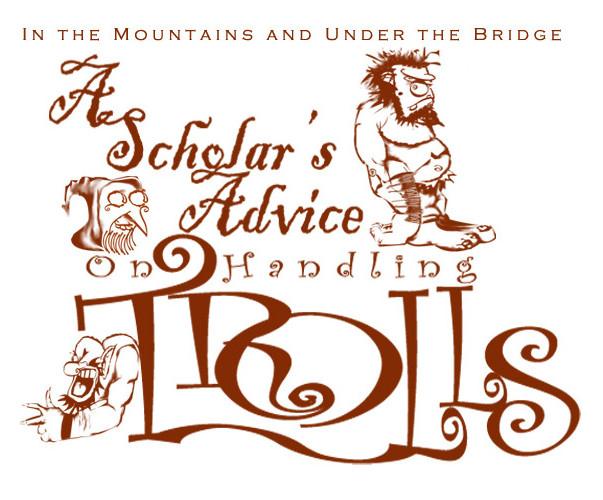 A Scholar's Advice on Handling Trolls Logo