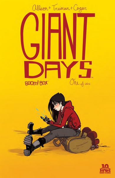 Cover for Giant Days #1
