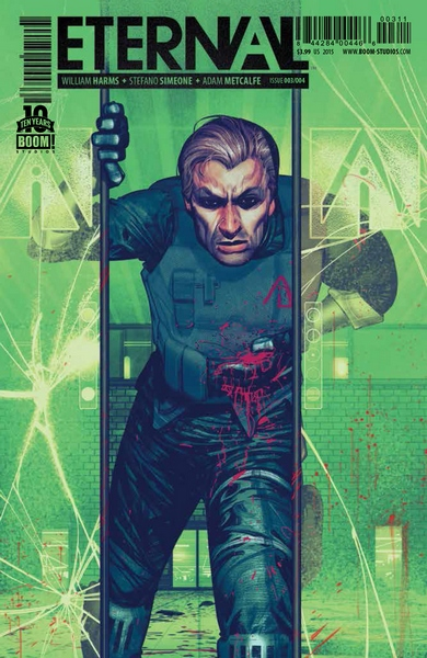 Cover A for Eternal #3