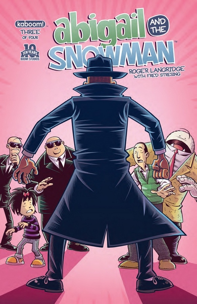 Cover for Abigail and the Snowman #3