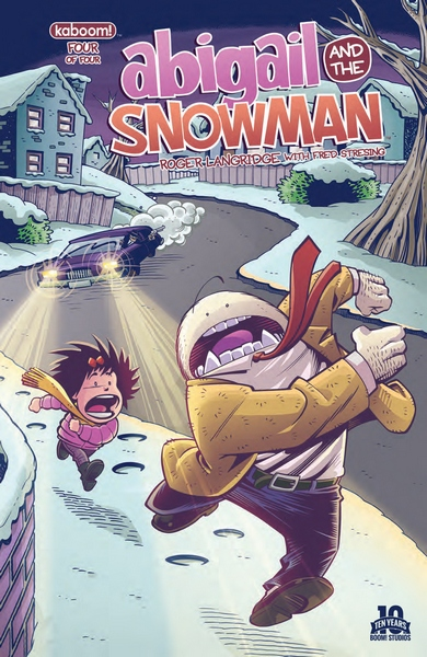 Abigail and the Snowman #4 Cover by Roger Langridge