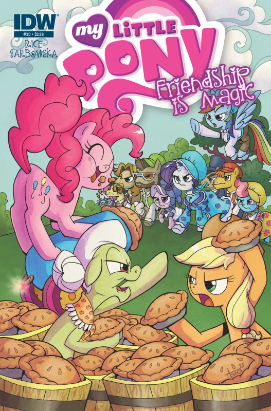My Little Pony: Friendship is Magic #30 Cover