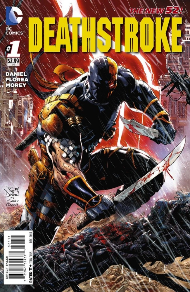 Deathstroke Volume 1: Gods of Wars Cover