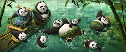 Shot from Kung Fu Panda 3