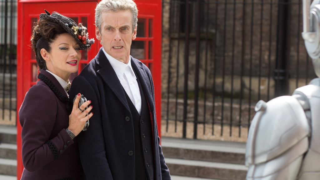 The Doctor and Missy in Death in Heaven