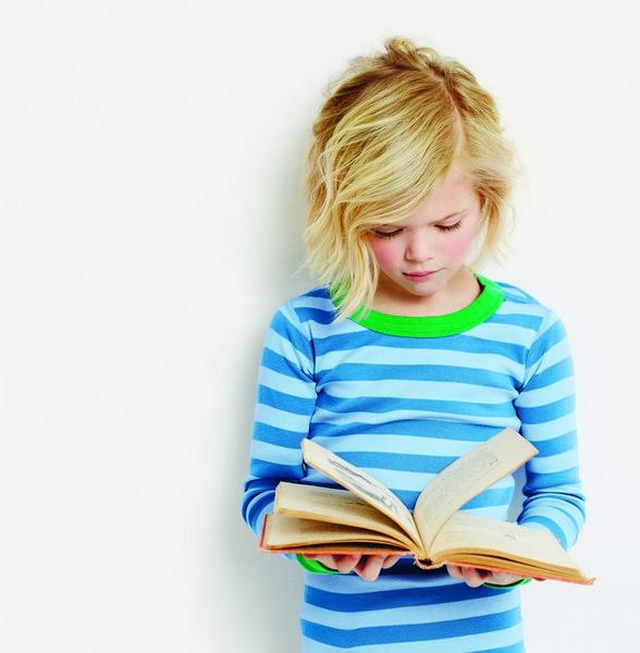 Raising a Reader Little Girl Reading