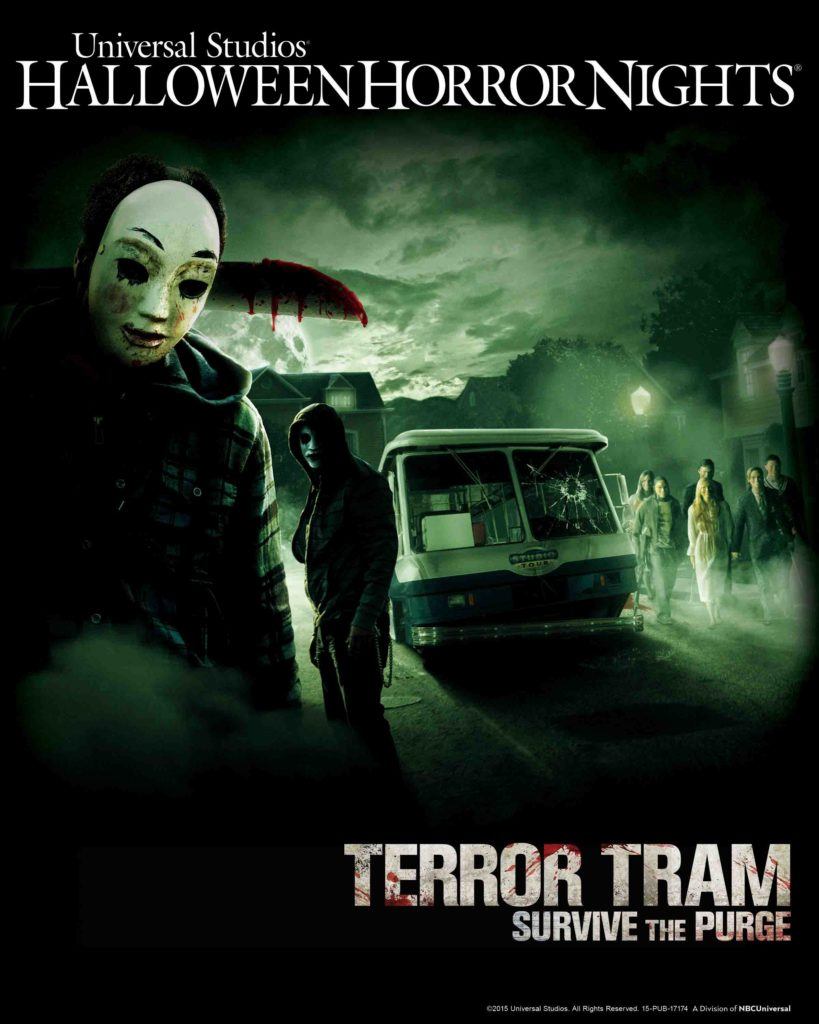 Terror Tram Survive The Purge Poster