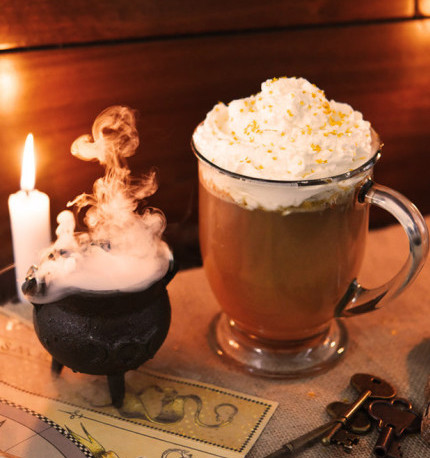 Butterbeer one of the top five Harry Potter Themed Desserts