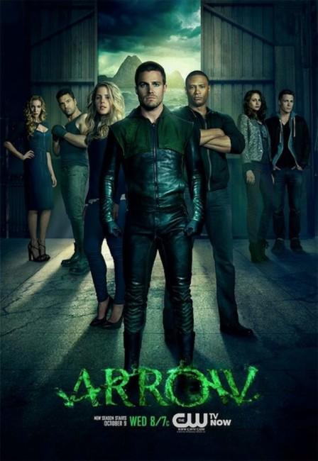 arrow season 2 poster