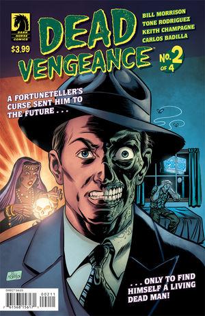 Dead Vengeance #2 Cover
