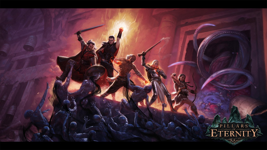 Pillars of Eternity Scene