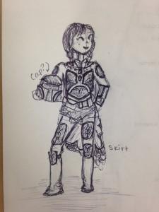 Rough Draft of Anna Fett