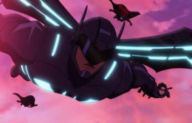 Frame from Batman: Bad Blood