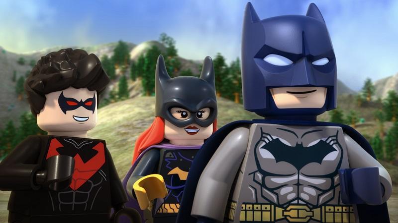 The batfamily in LEGO® DC Comics Super Heroes - Justice League: Gotham City Breakout