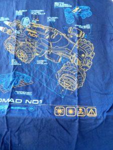 Mass effect T-shirt