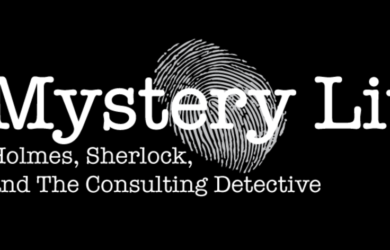 mystery lit Holmes Sherlock and the Consulting Detective Logo--thumb print