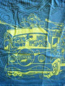 Teenage Mutant Ninja Turtles green t-shirt from the July 2017 Loot Crate