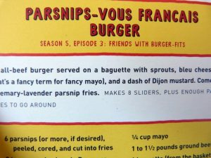 A Bob's Burgers Recipe Box